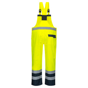 Portwest Contrast Bib and Brace S488