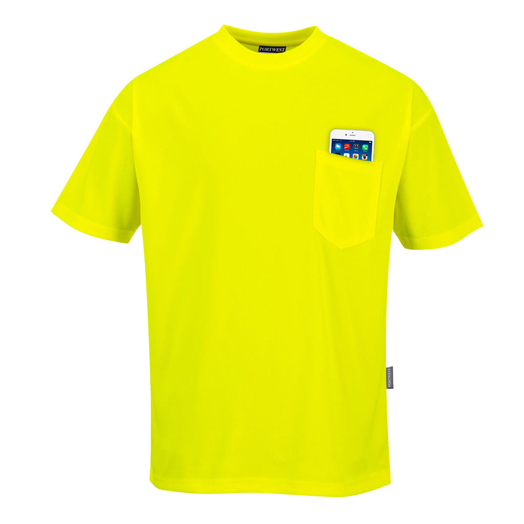 Portwest Short Sleeve Pocket T-Shirt S578