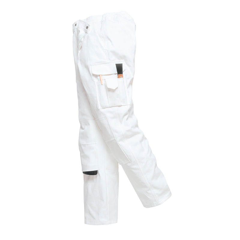 Portwest S817 Protective Cotton Painters Elasticated Pants with 7 Pockets
