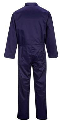 Portwest S999 Euro Polycotton Multipocket Work Coverall with Front Snap Closure