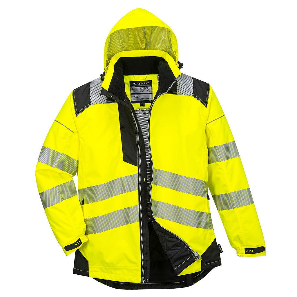 Portwest PW3 Hi-Vis Winter Jacket T400