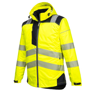 Portwest T400 Vision Reflective Hi-Vis Waterproof Safety Work Jacket ANSI