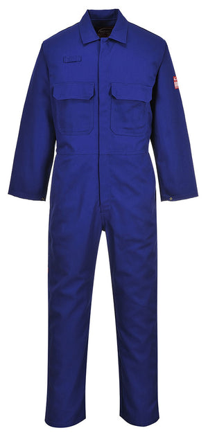 Portwest UBIZ1 Bizweld Dual Hazard Flame Resistant Protective Coverall ASTM NFPA