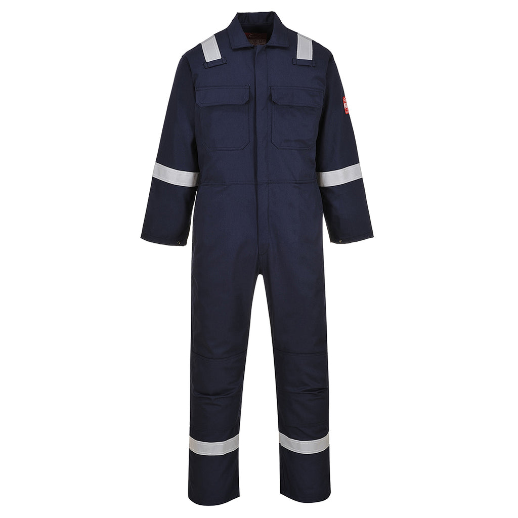 Portwest UBIZ5 Bizweld Iona Protective FR Reflective Safety Coverall ASTM NFPA