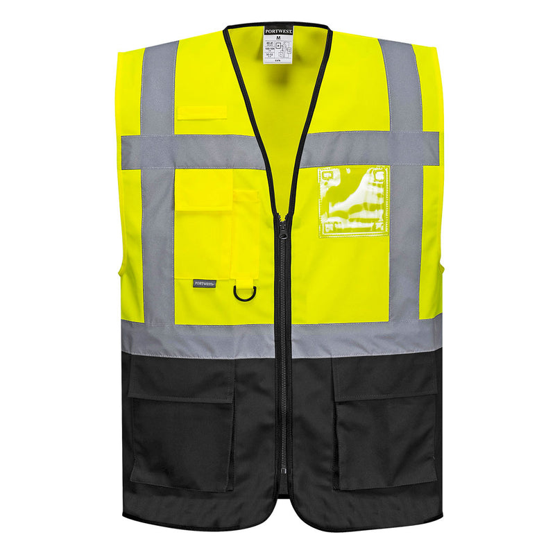 Portwest Warsaw Executive Hi-Vis Vest UC476