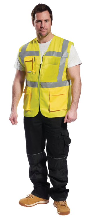 Portwest Madrid Executive Hi-Vis Vest UC496