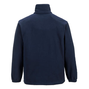 Portwest UF205 Aran Outdoor Polyester Work Zipper Fleece with Elasticated Cuffs