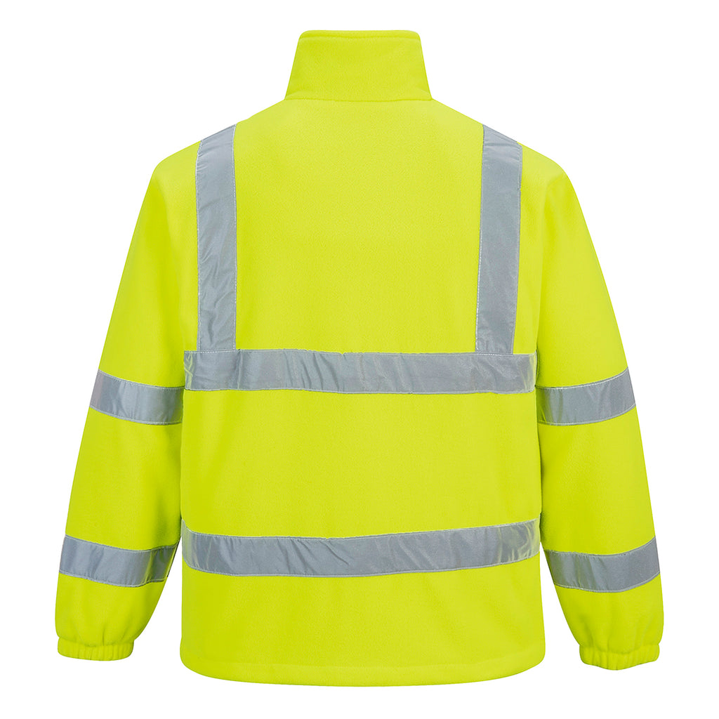 Portwest Hi-Vis Mesh Lined Fleece UF300