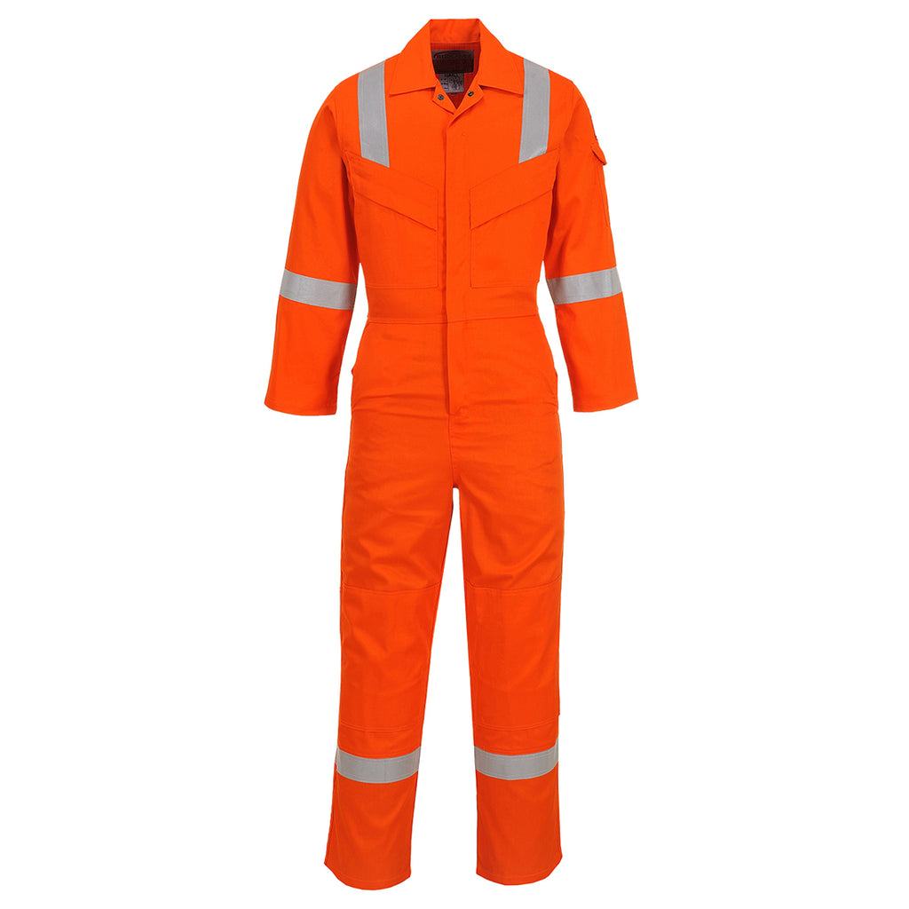 Portwest UFR21 Super Lightweight FR Anti-Static Safety Work Coverall ASTM NFPA