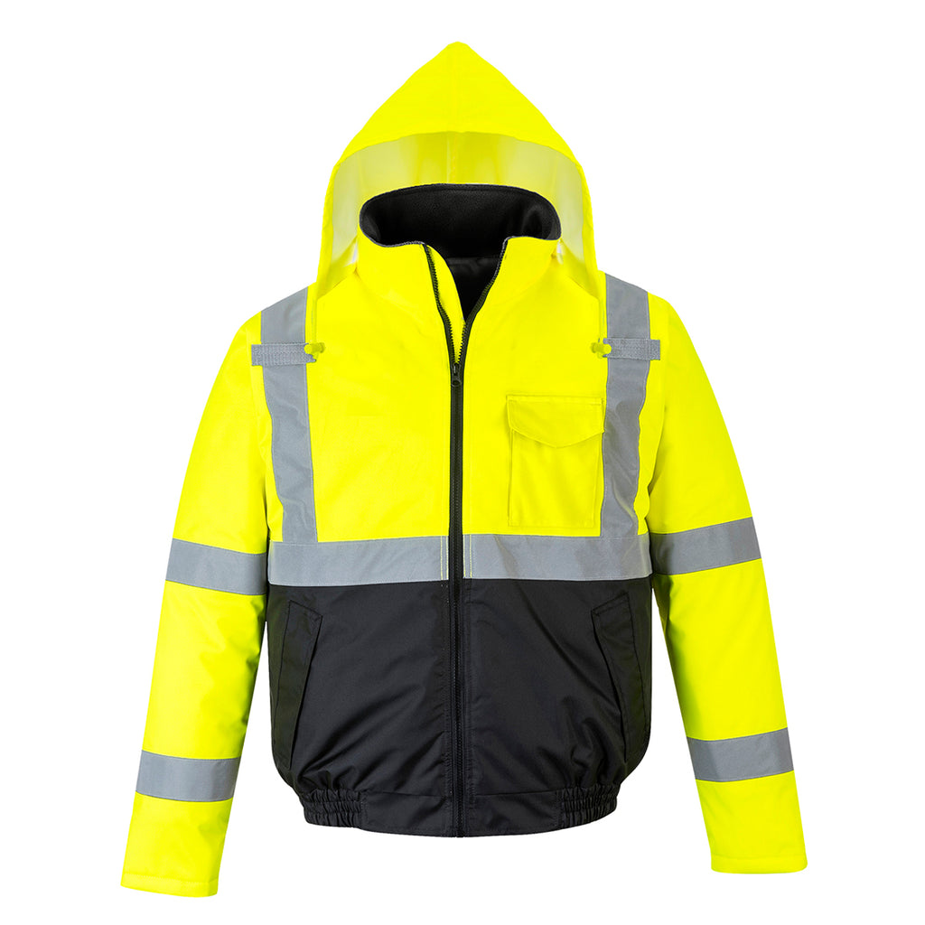 Portwest Hi-Vis Two-Tone Bomber Jacket US363