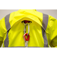 Portwest US366 Hi-Vis Reflective Contrast Waterproof Safety Work Jacket ANSI