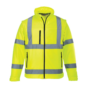 Portwest Hi-Vis Softshell Jacket US428