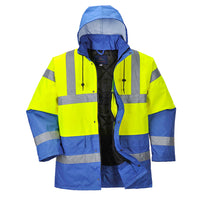 Portwest Hi-Vis Contrast Traffic Jacket US466