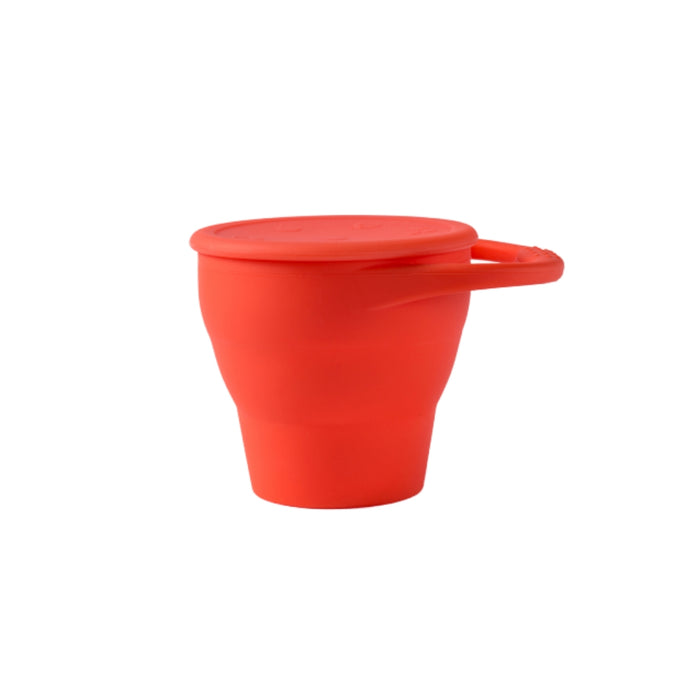 C+C Snack Cup - Coral/Red - Creative Change Designs
