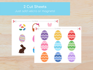 Easter Matching Busy Book - Digital Download