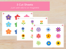 Load image into Gallery viewer, Flower Matching Busy Book - Digital Download