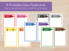 Load image into Gallery viewer, Color Flashcards Busy Book - Digital Download