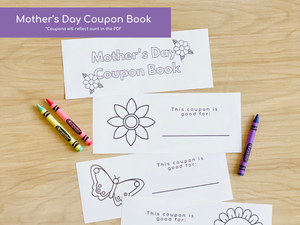 Mother's Day Printable Activities - Aunt Edition - Digital Download