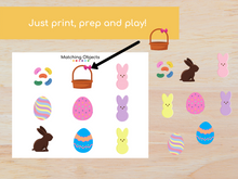 Load image into Gallery viewer, Easter Matching Busy Book - Digital Download