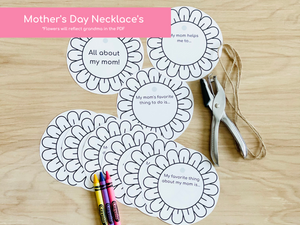 Mother's Day Printable Activities - Grandma Edition - Digital Download