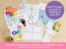 Load image into Gallery viewer, Father's Day Printable Activities - Digital Download