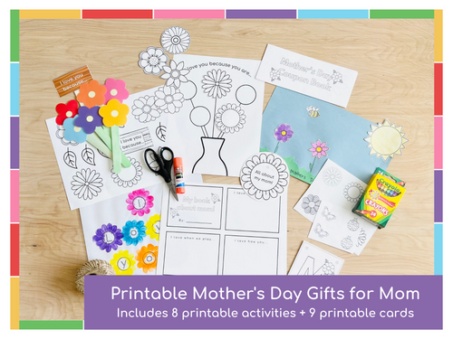 Mother's Day Printable Activities - Digital Download