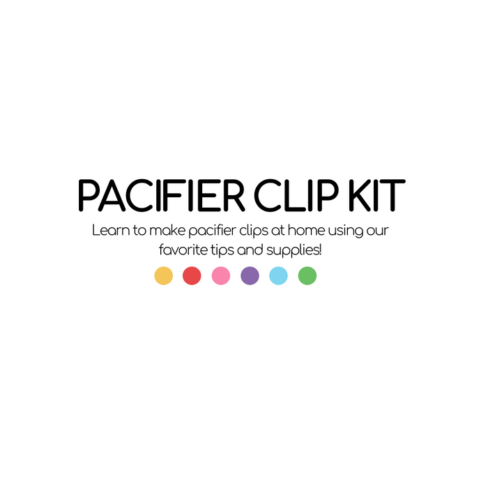 Learn to Make Pacifier Clips