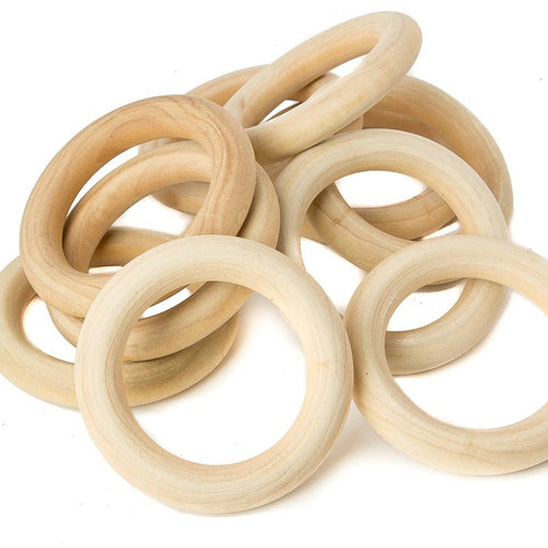 Wooden Ring Teether - Large - Creative Change Designs