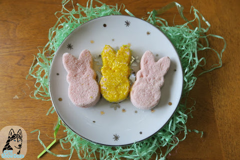 Easter peeps for pups