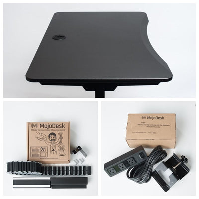 MojoDesk Bundle: Best Sit To Stand Desk