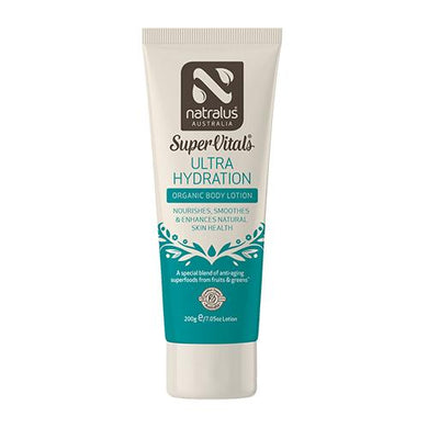 SuperVitals Ultra Hydration Organic Body Lotion 200g