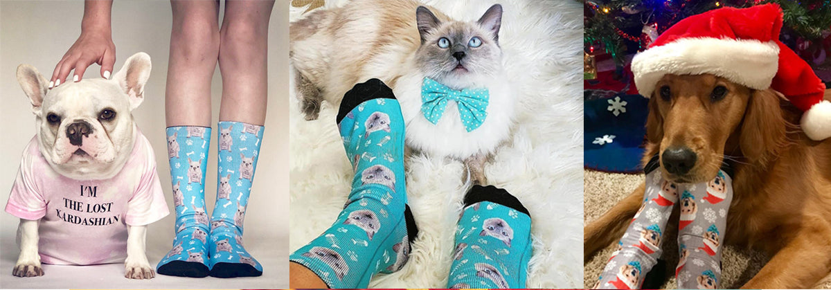Awesome Custom Pet Socks