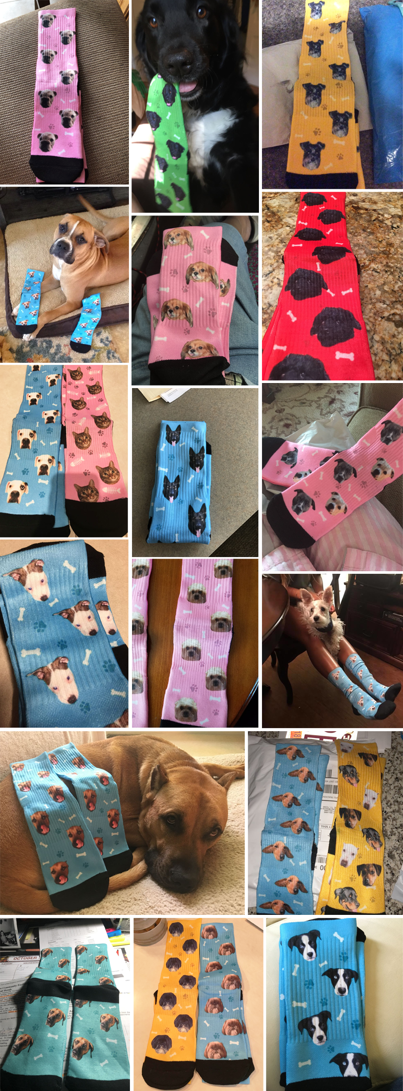personalized socks gifts for dog lovers