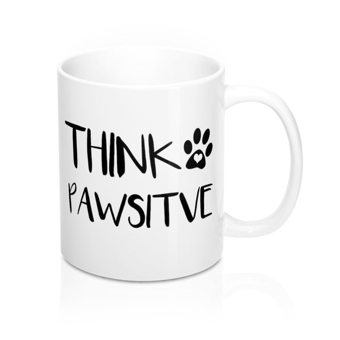 Think Pawsitive Mug