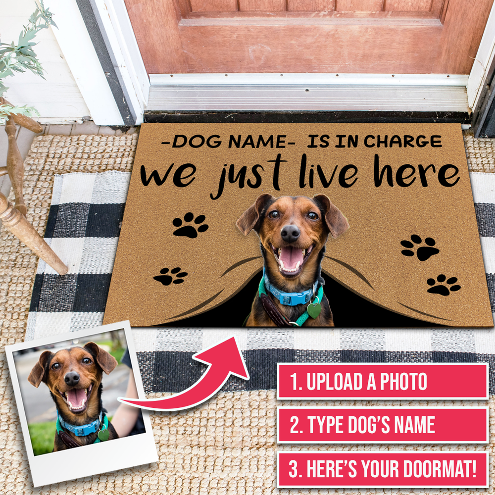 Personalized Dog Doormats