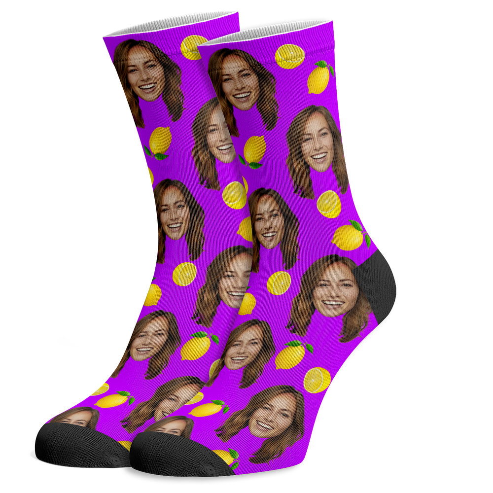 Custom Lemon Socks