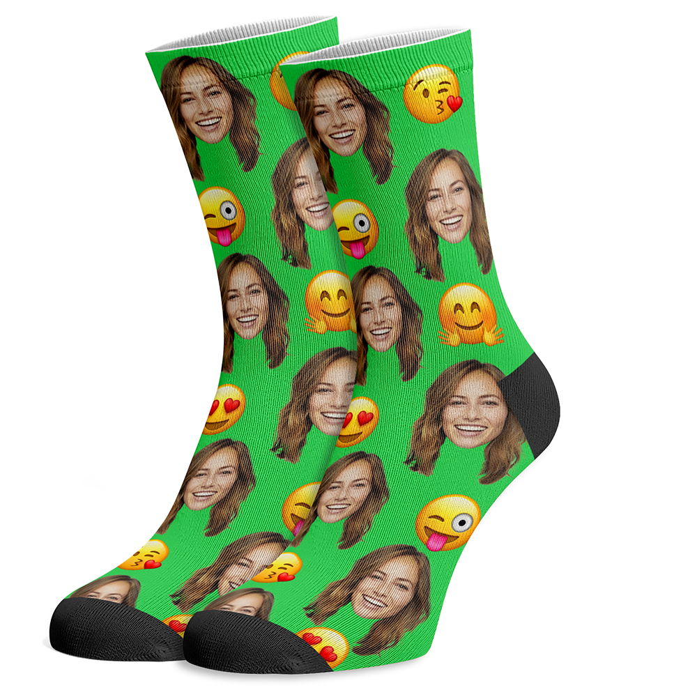 Personalized Emoji Socks