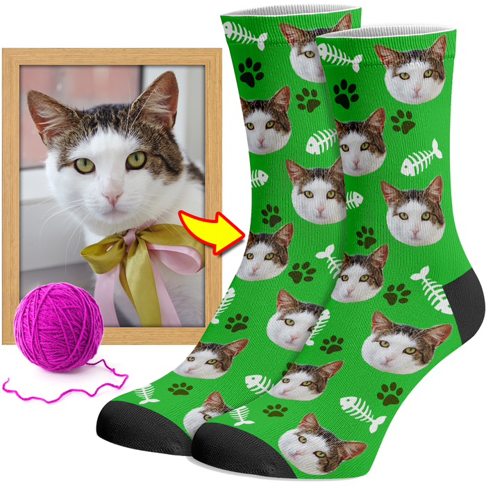 Cat Socks Custom
