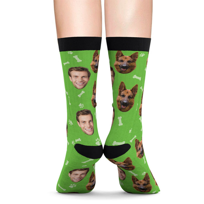 Custom Face Socks for Men and Women