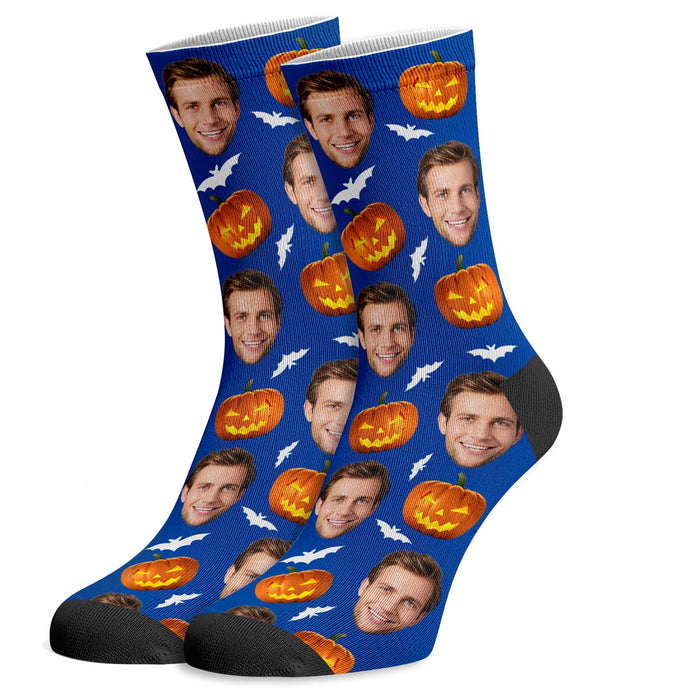 Halloween Custom Face Socks