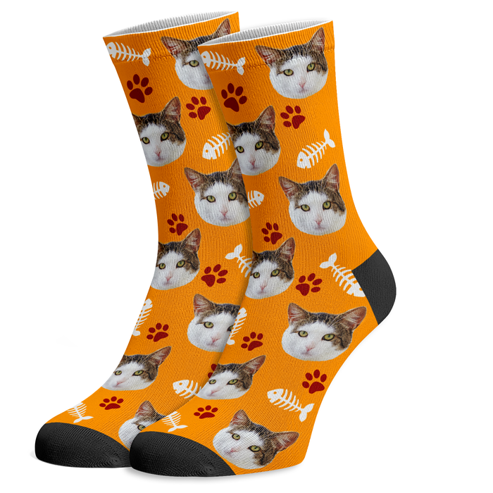 Socks With Your Cat's Face