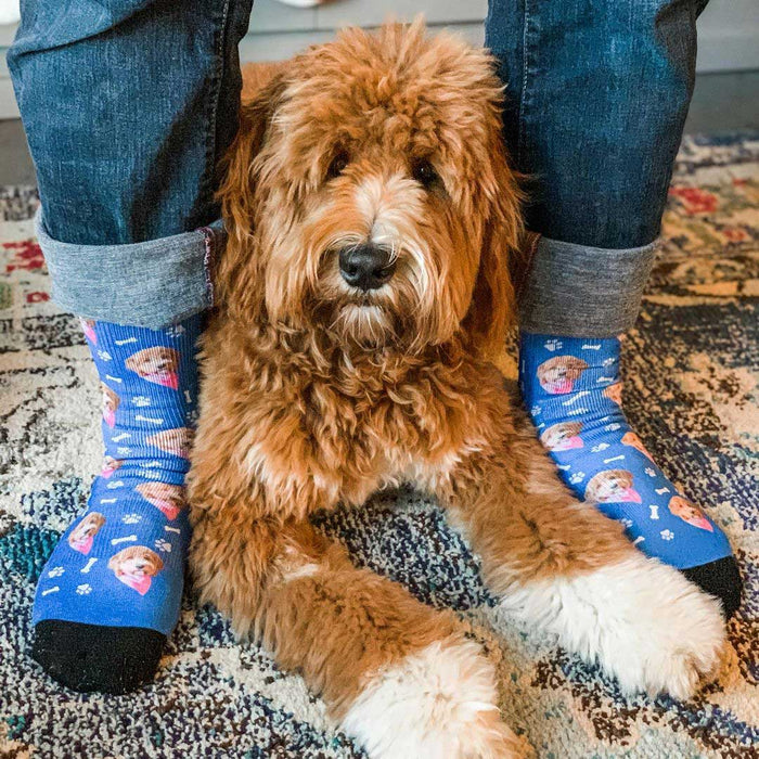 Personalized Dog Face Socks