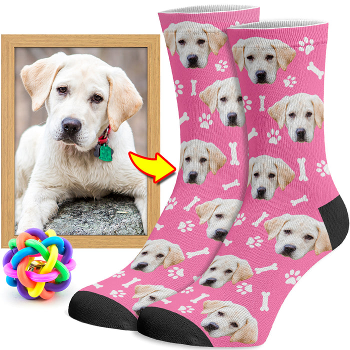 Socks with Your Dog on Them