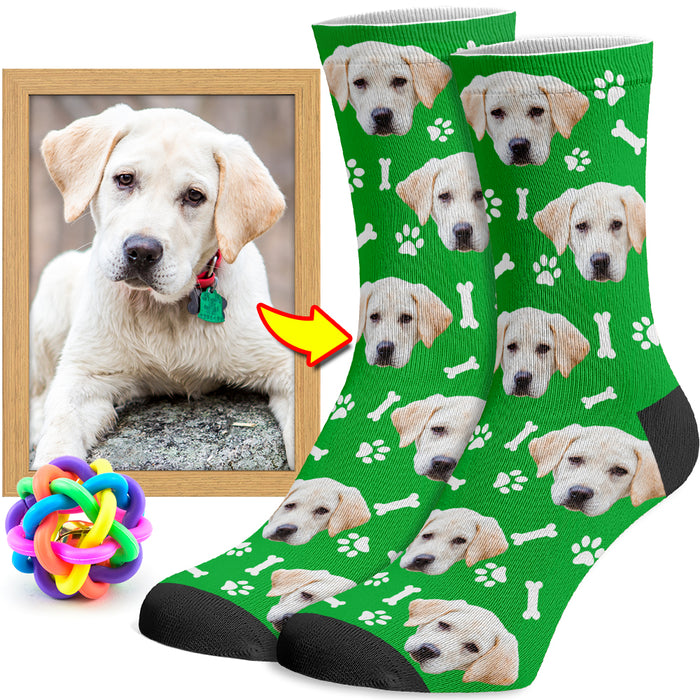 Personalized Dog Socks