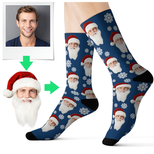 Personalised Christmas Socks