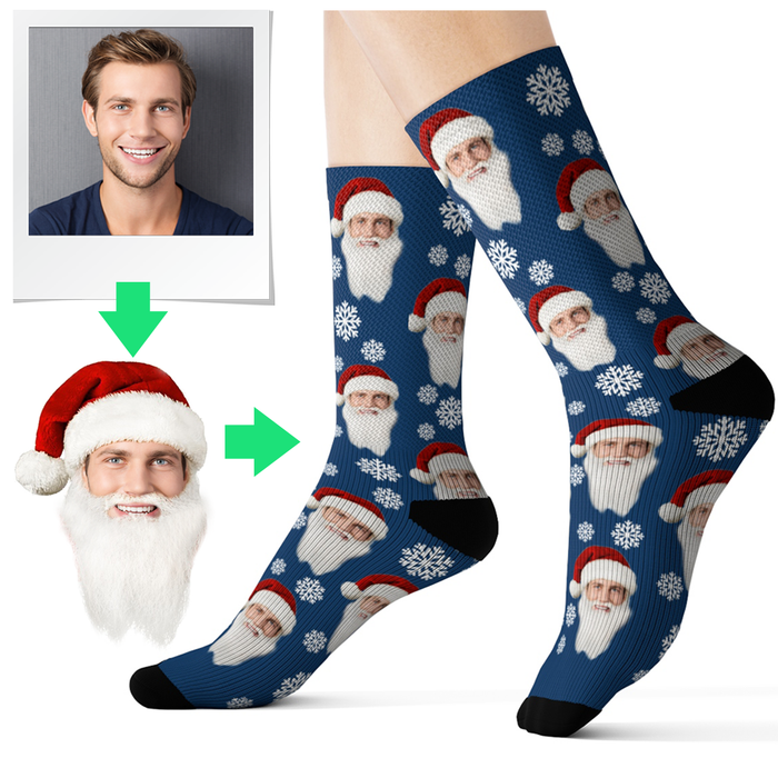 personalized christmas socks