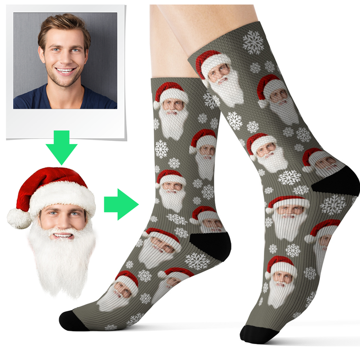 custom socks with face