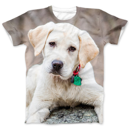 Custom All Over Print Photo T-Shirt - Dogs & Cats