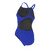 womens competitive swimsuit blue