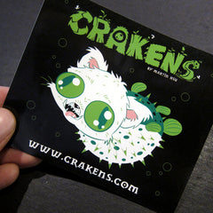 CRAKENS Stickers